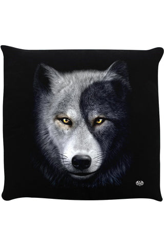 Spiral Wolf Chi II Cushion | Angel Clothing