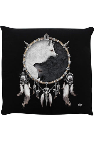 Spiral Wolf Chi I Cushion | Angel Clothing