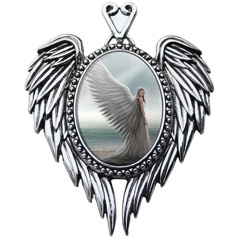 Spirit Guide Cameo Pendant Necklace by Anne Stokes EC15 | Angel Clothing