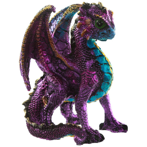 Spirit of the Elements, Purple Enchanted Nightmare Dragon | Angel Clothing