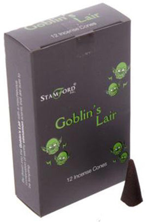 Stamford Goblins Lair Incense Cones | Angel Clothing
