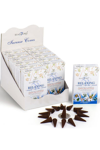 Stamford Incense Cones Relaxing | Angel Clothing