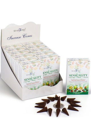Stamford Incense Cones Sensuality | Angel Clothing