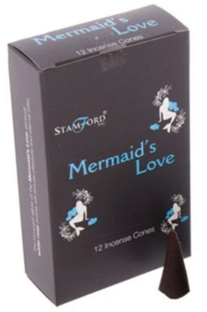 Stamford Mermaids Love Incense Cones | Angel Clothing