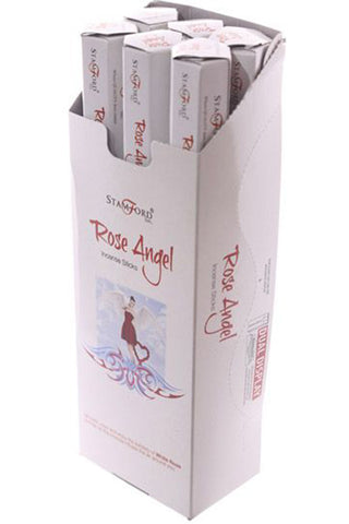 Stamford Mystical Hex Rose Angel Incense Sticks | Angel Clothing