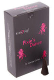 Stamford Pixies Dance Black Incense Cones | Angel Clothing