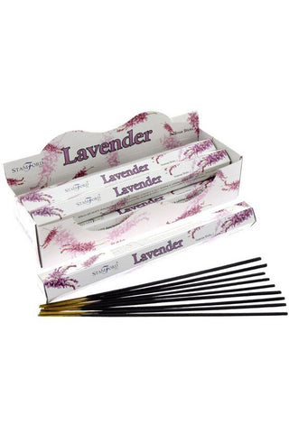 Stamford Premium Hex Range Incense Sticks Lavender | Angel Clothing