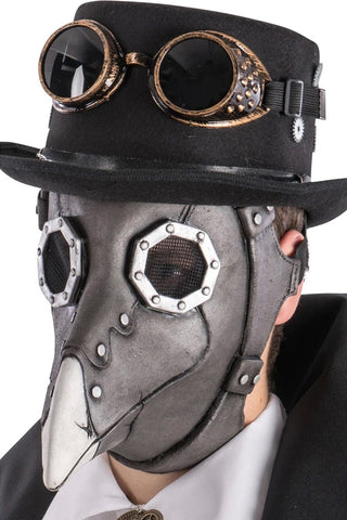 Steampunk Crow Latex Mask | Angel Clothing