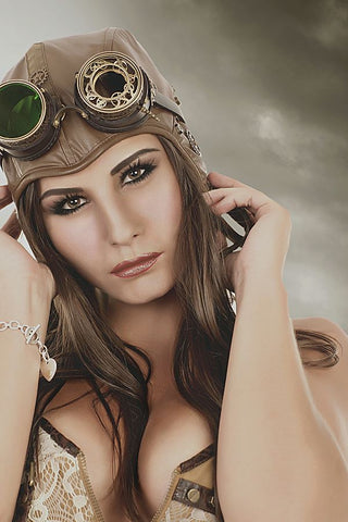 Steampunk Goggles, RQBL Steampunk Goggles, SP068 - Angel Clothing