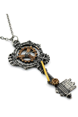 Steampunk Key Necklace | Angel Clothing