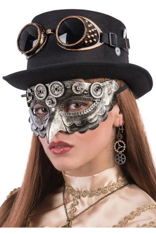 Steampunk Masquerade Mask with Beak | Angel Clothing