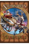 Steampunk Santa Yule Card | Angel Clothing
