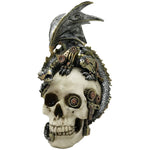 Steampunk Steel Wing Dragon Skull 21cm | Angel Clothing