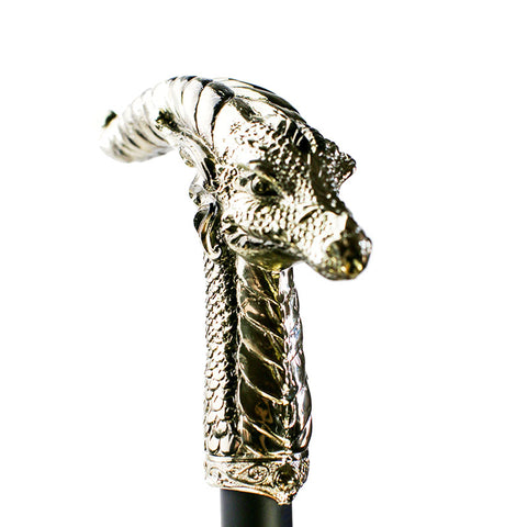 Steampunk Swaggering Cane - Horned Dragon Gothic Cane | Angel Clothing