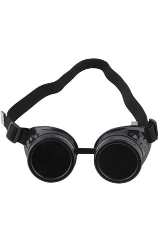Steampunk Goggles Black | Angel Clothing