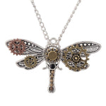 Steampunk Dragonfly Necklace | Angel Clothing