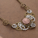 Steampunk Gears Necklace | Angel Clothing