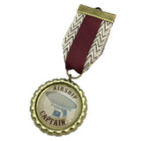 Airship Captain Steampunk Medal | Angel Clothing