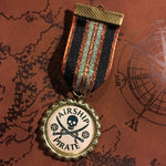Airship Pirate Steampunk Medal | Angel Clothing