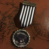 Dastardly Sky Pirate Steampunk Medal | Angel Clothing