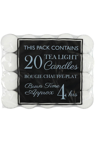Twenty 4 Hour Burn Tealights | Angel Clothing