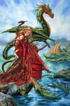 Briar The Dragon Charmes Daughter Card | Angel Clothing