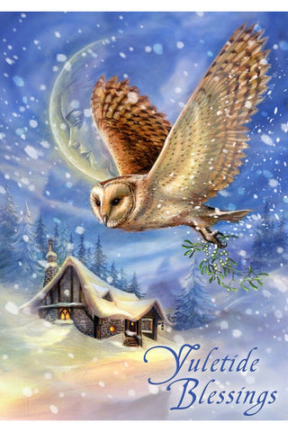 The Snow Bringer Yuletide Card | Angel Clothing