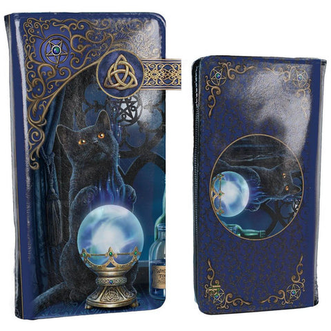 Lisa Parker The Witches Apprentice Embossed Purse 18.5cm | Angel Clothing