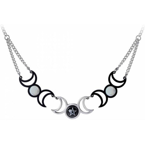 Alchemy Tres Lunae Necklace P877 | Angel Clothing