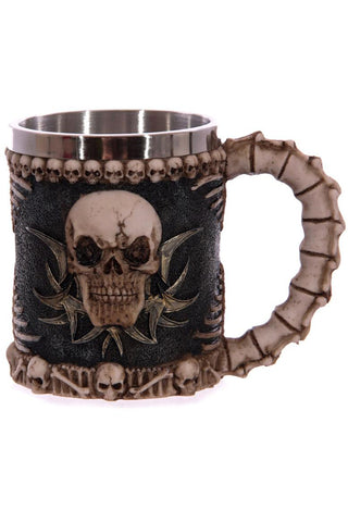 Tribal Skull Tankard | Angel Clothing