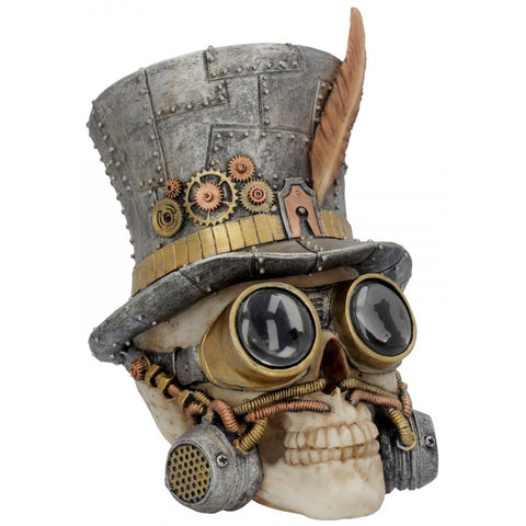 Count Archibald Steampunk Skull 19.5cm | Angel Clothing