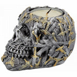 Cranial Blade Skull Tea Light Holder 10cm | Angel Clothing