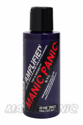 Manic Panic Amplified Hair Colour 118ml Ultra Violet Blue | Angel Clothing