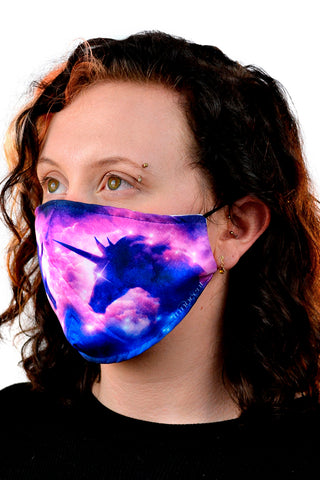 Unicorn Galaxy Face Mask | Angel Clothing