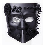 Gears and Spikes Masquerade Mask | Angel Clothing