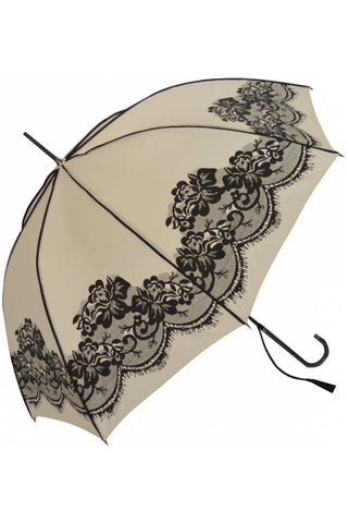 Vintage Lace Umbrella / Parasol Cream | Angel Clothing