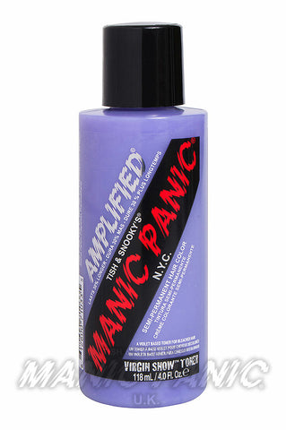 Manic Panic Amplified Hair Colour 118ml Virgin Snow | Angel Clothing