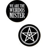 We Are The Weirdos Mister Coaster Set | Angel Clothing