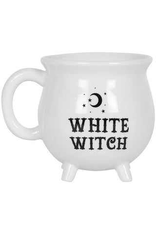 White Witch Cauldron Mug | Angel Clothing
