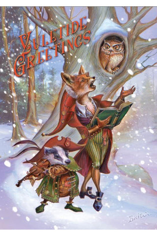 Wildwood Carols Yuletide Card | Angel Clothing