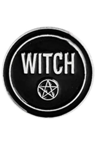 Witch Pentagram Gothic Pin | Angel Clothing
