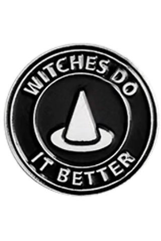 Witches Do It Better Gothic Pin | Angel Clothing