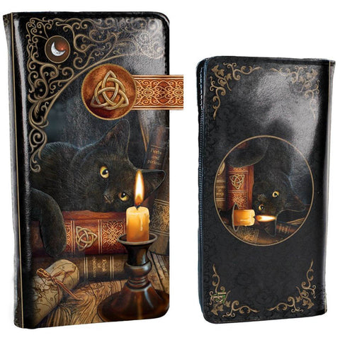 Lisa Parker Witching Hour Embossed Purse 18.5cm | Angel Clothing