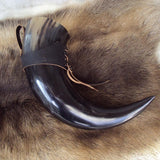 Medieval Drinking Horn X-Large Black | Angel Clothing