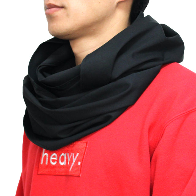 mobius snood BLACK