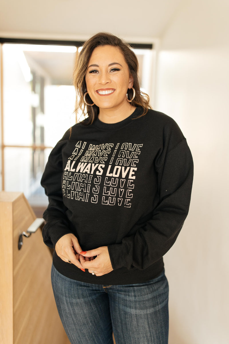 Always Love Pullover in Black