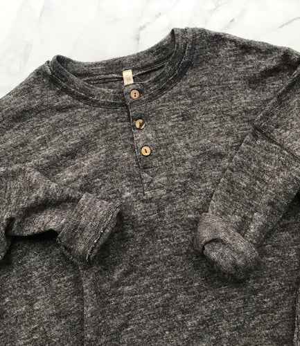 Three Button Henley