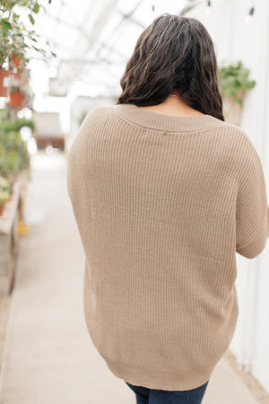 The Edge Of Your Sleeve Sweater
