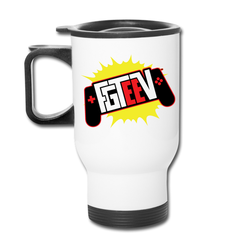 FGTeeV Controller + Family Travel Mug - white
