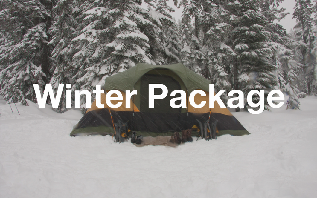 WINTER 2-Camper Package